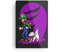 Luigi Pup Metal Print