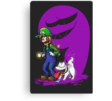 Luigi Pup Canvas Print