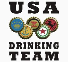 usa drinking team beer by Glamfoxx