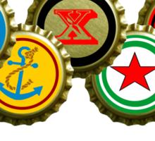 usa drinking team beer Sticker