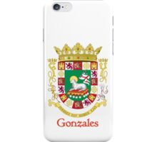 Gonzales Shield of Puerto Rico iPhone Case/Skin