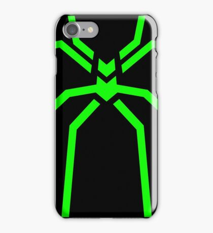 Stealth Spider Green iPhone Case/Skin