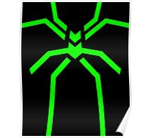 Stealth Spider Green Poster