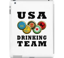 usa drinking team beer iPad Case/Skin