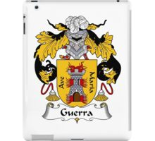 Guerra Coat of Arms/Family Crest iPad Case/Skin