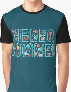 Hello summer midnight Graphic T-Shirt