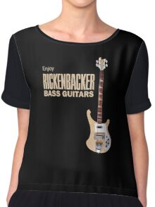 Enjoy Rickenbacker Bass Guitars Chiffon Top