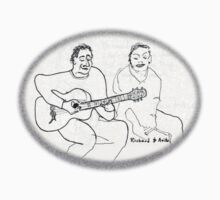 Guitar player and wife One Piece - Short Sleeve
