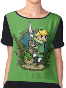 Zelda Wind Waker Forbidden Woods Temple Chiffon Top