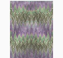 Pattern 042 Ripple Colorful Purple Waves, Green Unisex T-Shirt
