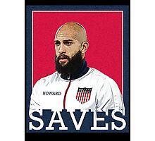 Tim Howard Saves Photographic Print