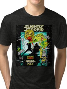 SLIGHTLY STOOPID SOJA RETURN THE RED Tri-blend T-Shirt