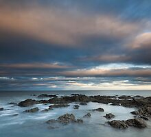 north sea sunset by codaimages