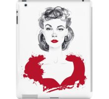 Burgundy or Scarlett iPad Case/Skin