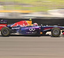 Mark Webber F1 by Andrew Felton