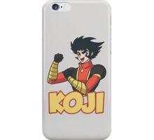 Koji Kabuto Mazinger iPhone Case/Skin