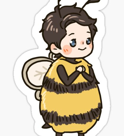 A happy Bee Sticker