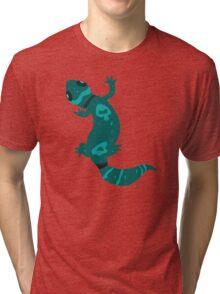 Blue Leopard Gecko  Tri-blend T-Shirt