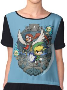 Zelda Wind Waker Earth Temple Chiffon Top