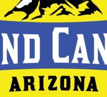 GRAND CANYON NATIONAL PARK ARIZONA MOUNTAINS HIKING CAMPING HIKE CAMP 1919 ADVENTURE 3 Sticker