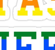 Yas queen rainbow Sticker
