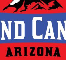 GRAND CANYON NATIONAL PARK ARIZONA MOUNTAINS HIKING CAMPING HIKE CAMP 1919 ADVENTURE 2 Sticker
