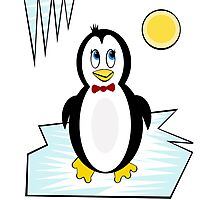 Cute penguin by Moma Photographic Print