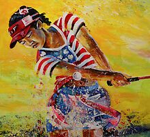 Golf Wonder Lucy Li by Goodaboom