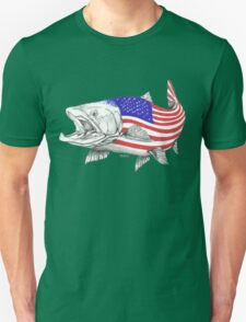 American Steel Head Salmon Unisex T-Shirt