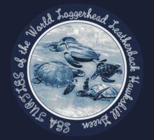 Sea Turtles of the World Baby Tee