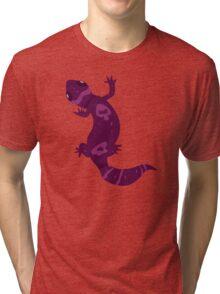 Purple Leopard Gecko Tri-blend T-Shirt