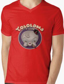 TOBOLAND is coming! Mens V-Neck T-Shirt