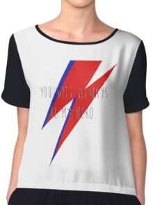 DAVID BOWIE HERO Chiffon Top