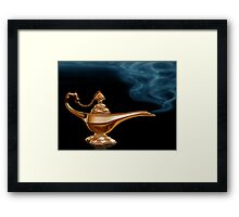 Magic Lamp Framed Print