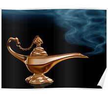 Magic Lamp Poster