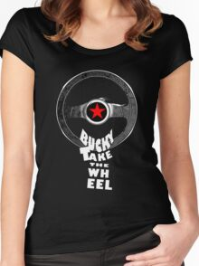 Bucky Take the Wheel Women's Fitted Scoop T-Shirt