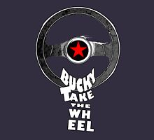 Bucky Take the Wheel Womens Fitted T-Shirt