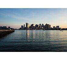 Skyline of Boston Photographic Print
