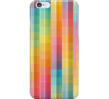 Rainbow Lines Pattern iPhone Case/Skin