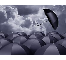 Stormy day Photographic Print
