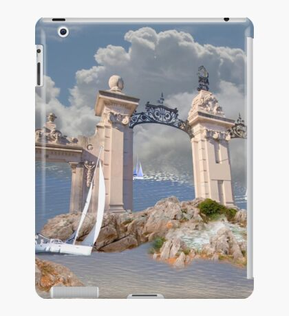 gates to the quietness of the spirit iPad Case/Skin