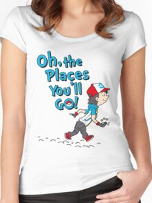 Go Trainer Go! Women's Fitted Scoop T-Shirt