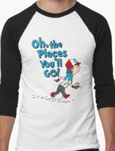 Go Trainer Go! Men's Baseball ¾ T-Shirt