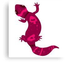 Pink Leopard Gecko  Canvas Print