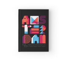 Postcards from Amsterdam / Typography Hardcover Journal