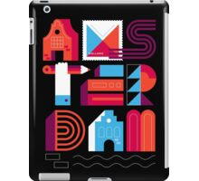Postcards from Amsterdam / Typography iPad Case/Skin
