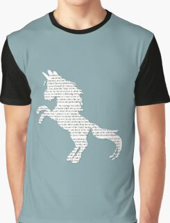 Unicorn is the Word Graphic T-Shirt