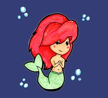 Chibi 'Lil Mermaid - original marker illustration Womens Fitted T-Shirt