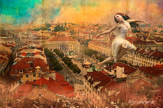 a Fairy on the roof... by terezadelpilar~ art & architecture