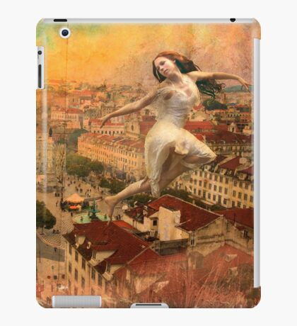 a Fairy on the roof... iPad Case/Skin